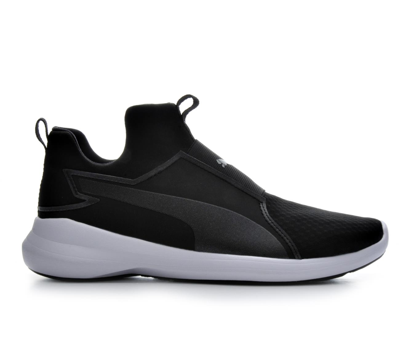 Girls' Puma Rebel Jr Training Shoe (Black)