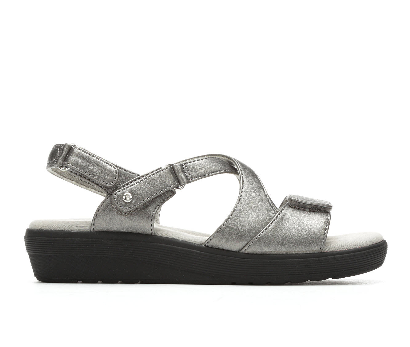 Women's Grasshoppers Cherry Wedge Sandals (Silver)