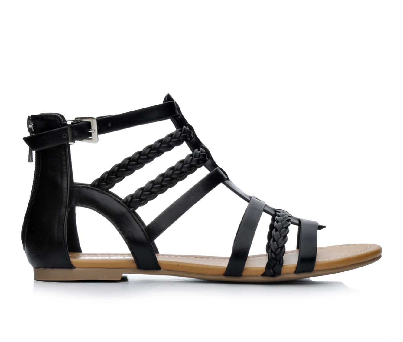Women's Unr8ed Sienna Sandals (Black)