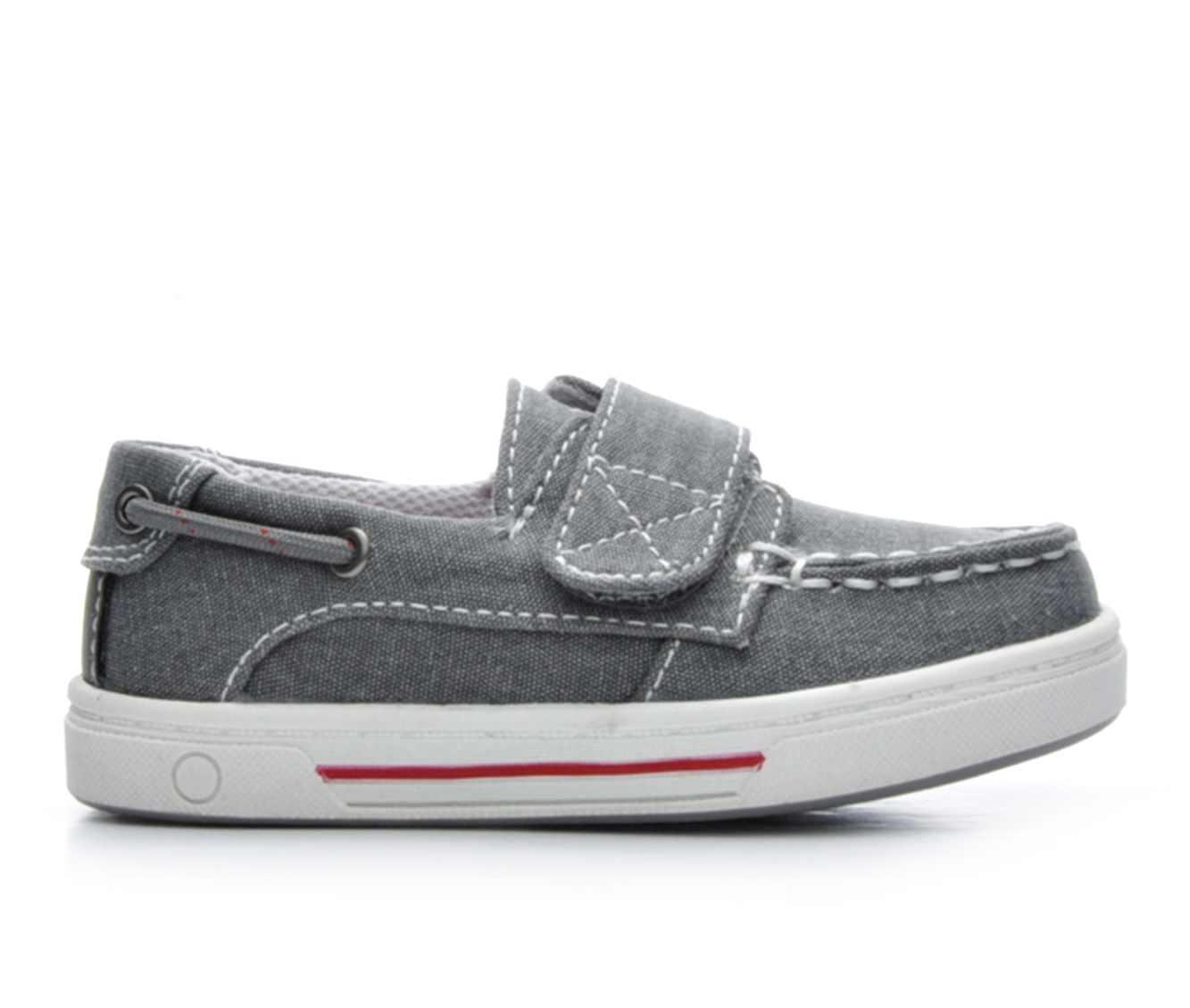 Boys' Anchors Edge Bay Infant Sammy Boat Shoes (Grey)