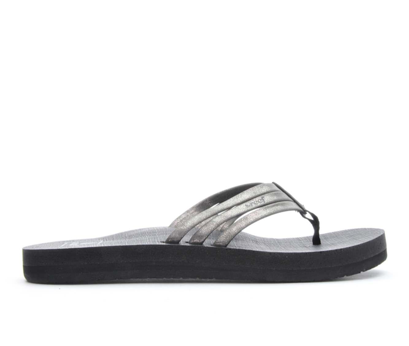 73a38b37c8f5 Women s Reef Star Shine Sandals (Grey)
