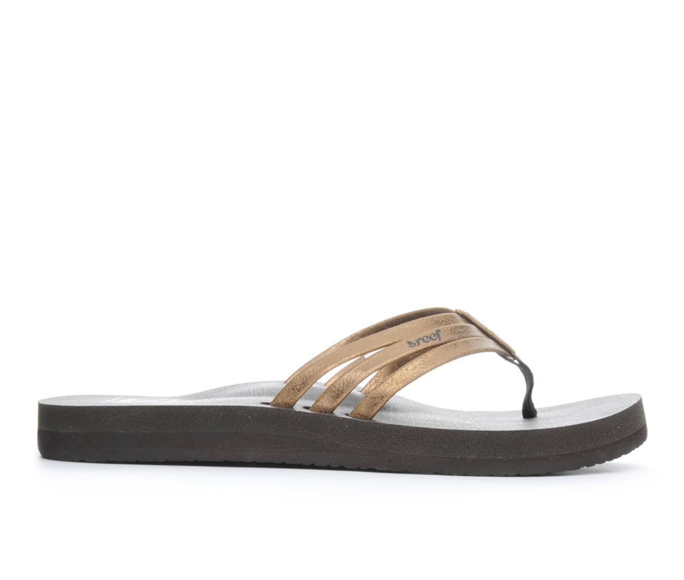 Women's Reef Star Shine Sandals (Brown)