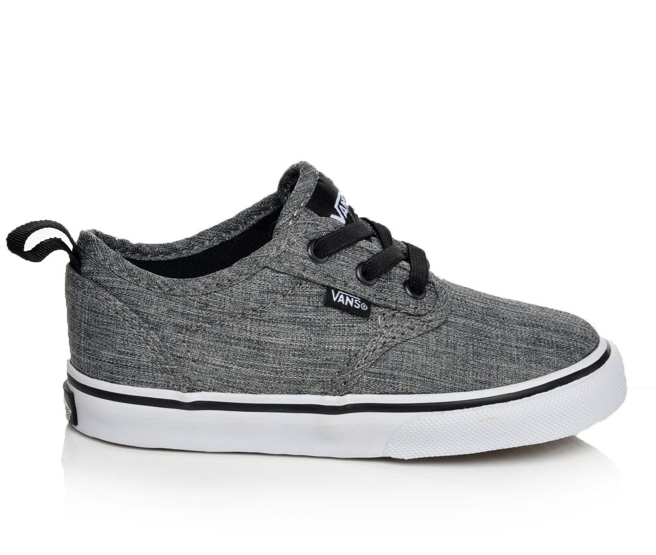 Boys' Vans Atwood Slip-On Sneakers (Grey)