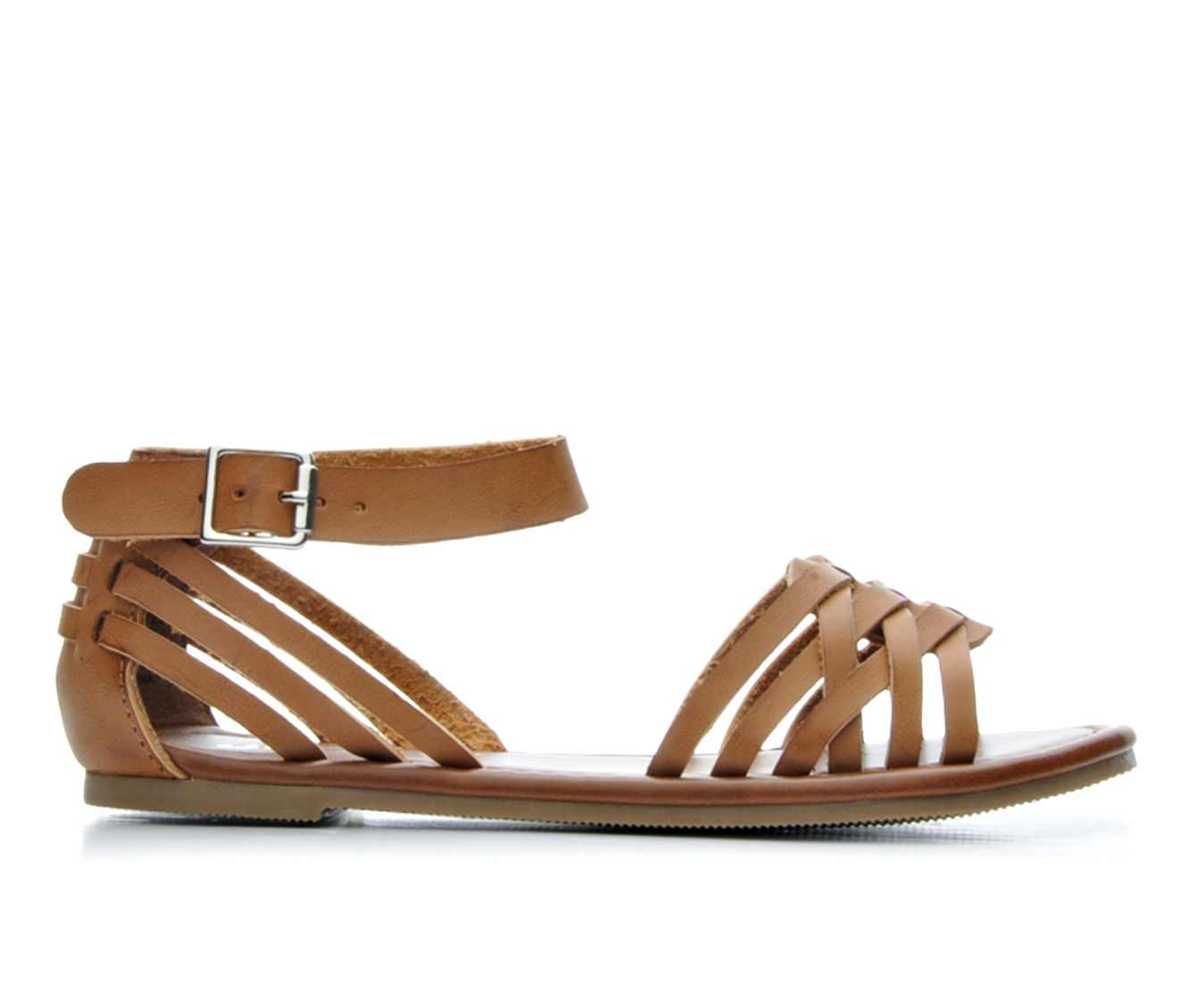 Girls' Unr8ed Jowl Sandals (Brown)
