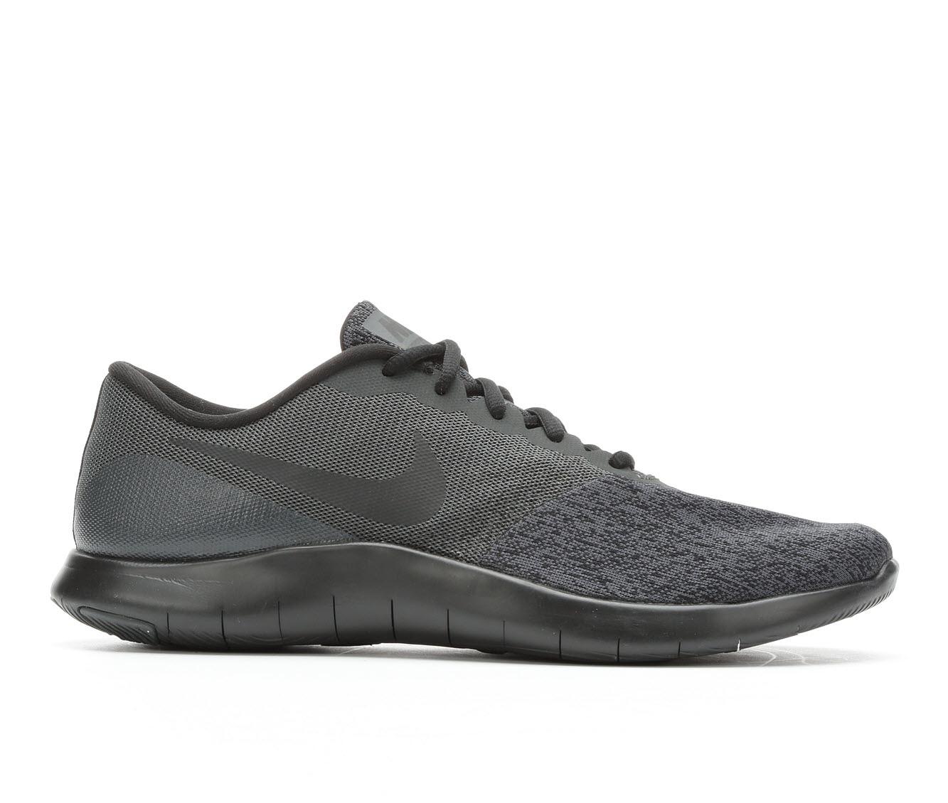 Men's Nike Flex Contact Running Shoes (Black - Size 7) 1682778