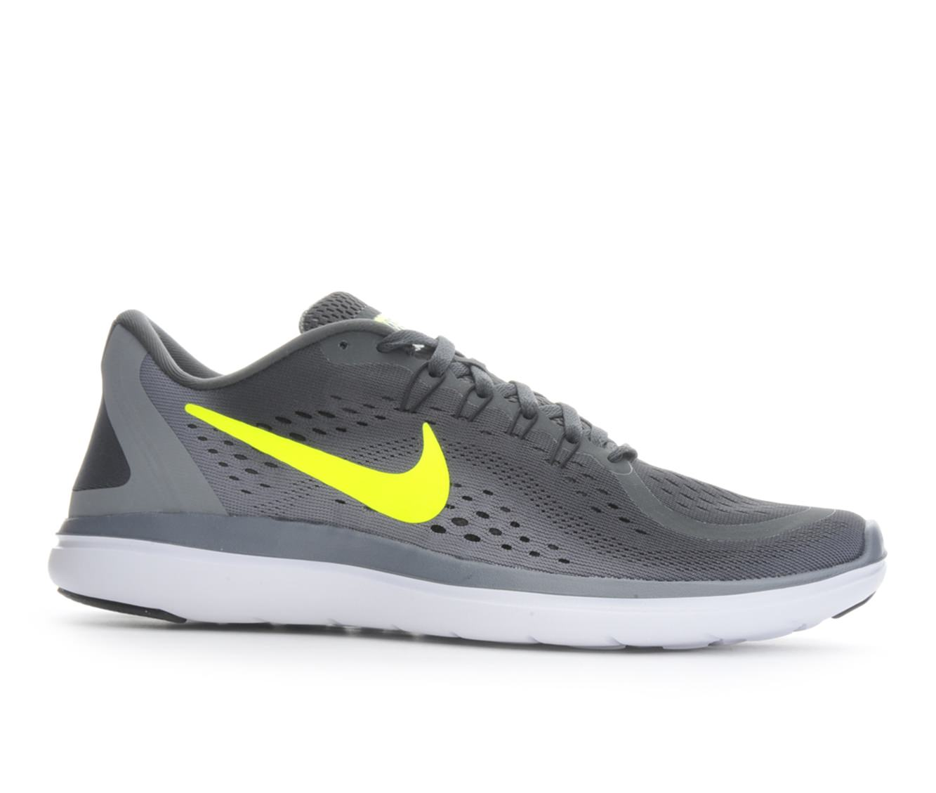 Men's Nike Flex 2017 Run Running Shoes (Grey - Size 11) 1631465