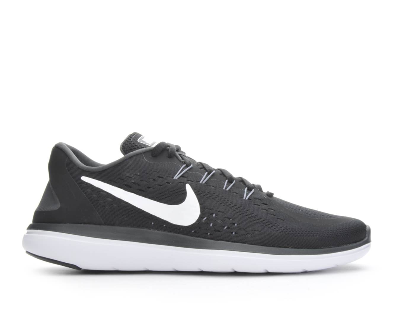 Men's Nike Flex 2017 Run Running Shoes (Black - Size 9.5) 1652026