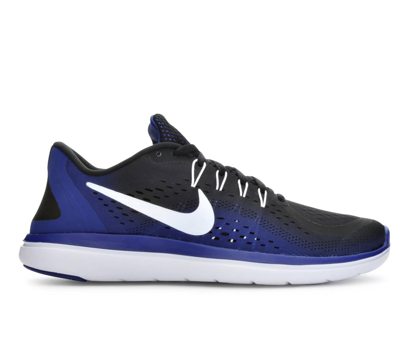 Men's Nike Flex 2017 Run Running Shoes (Black - Size 10.5) 1652043
