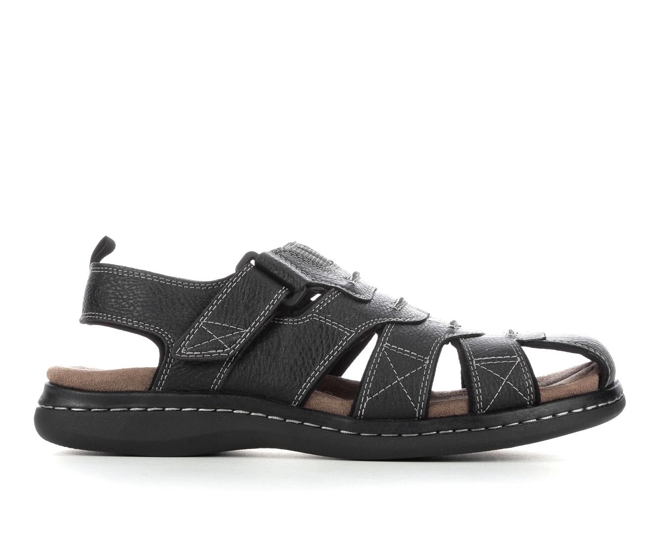 Men's Dockers Searose Sandals (Black)