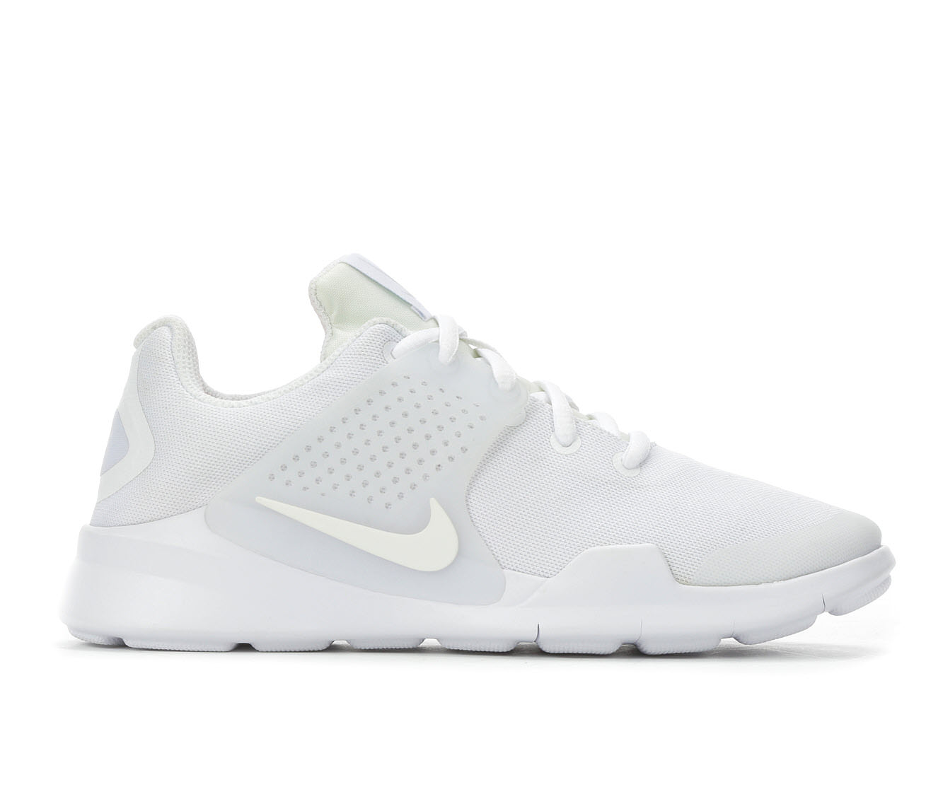Girls' Nike Arrowz 3.5 - 7 Running Shoes (White)