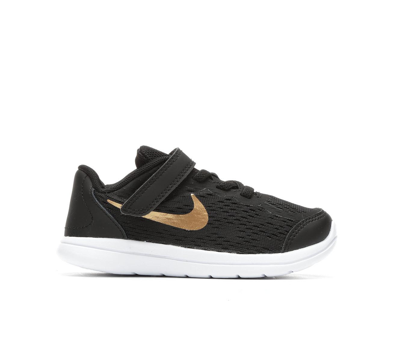 Boys' Nike Infant Flex RN 2017 Sneakers (Black)