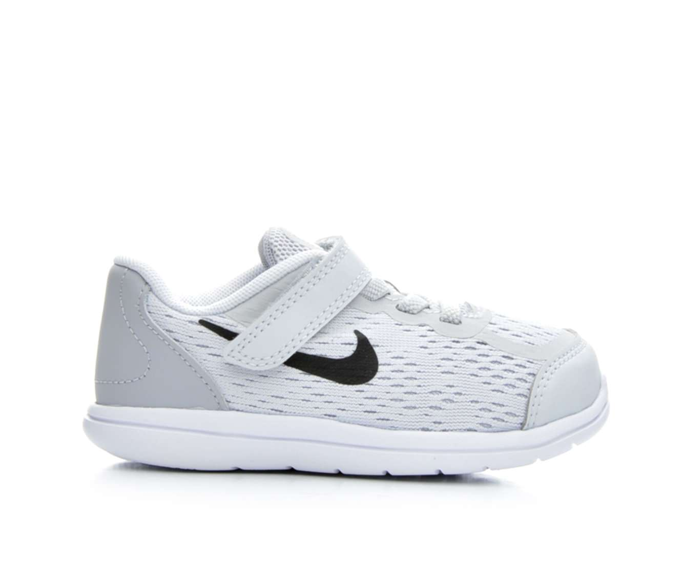 Girls' Nike Infant Flex RN 2017 Sneakers (Grey)