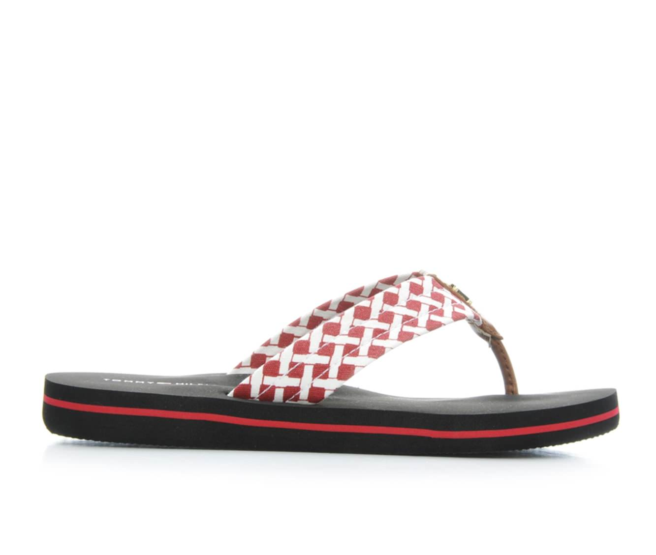 Women's Tommy Hilfiger Coven Sandals (Red)