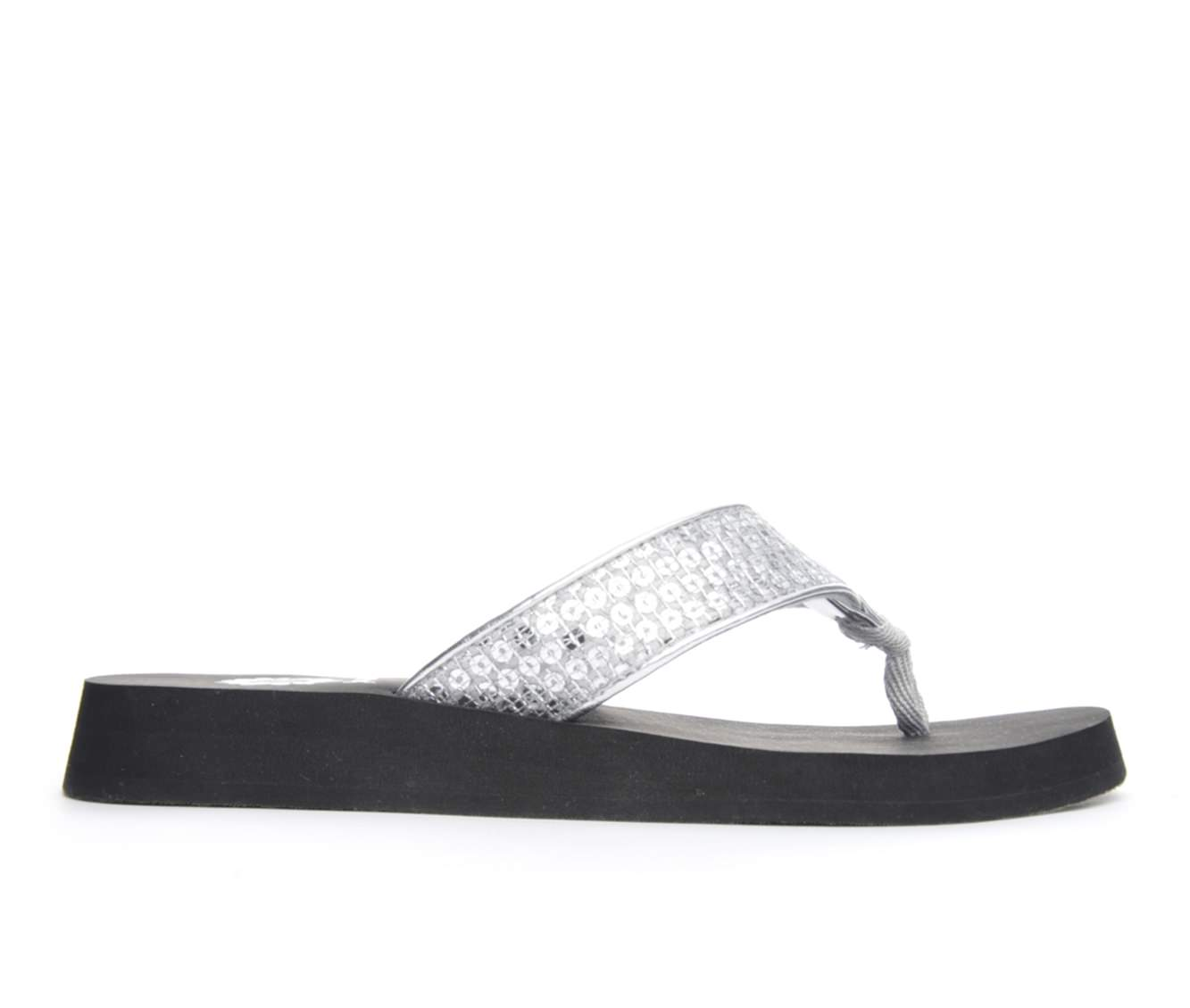 Women's Yellow Box Avito Sandals (Silver)
