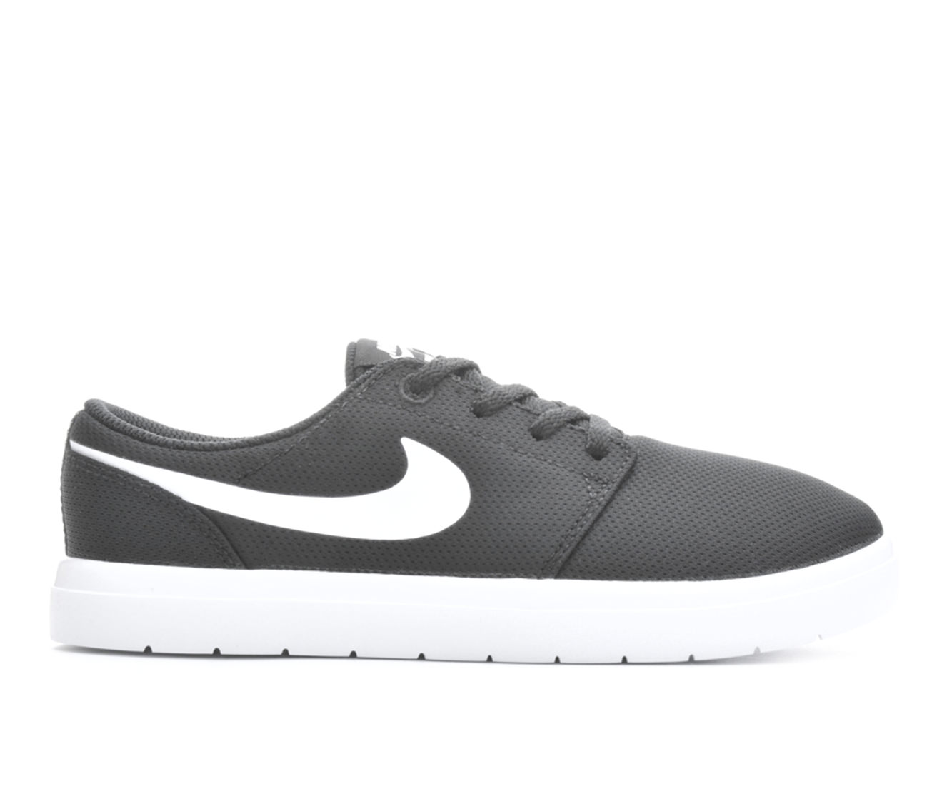 Boys' Nike Portmore II Ultralight Skate Shoes (Black)