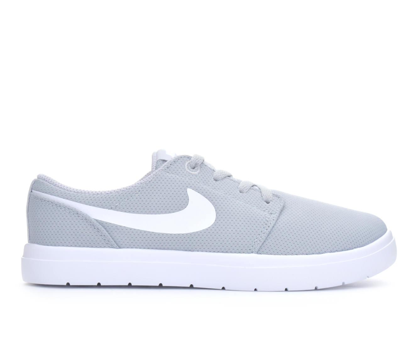 Boys' Nike Portmore II Ultralight Skate Shoes (Grey)