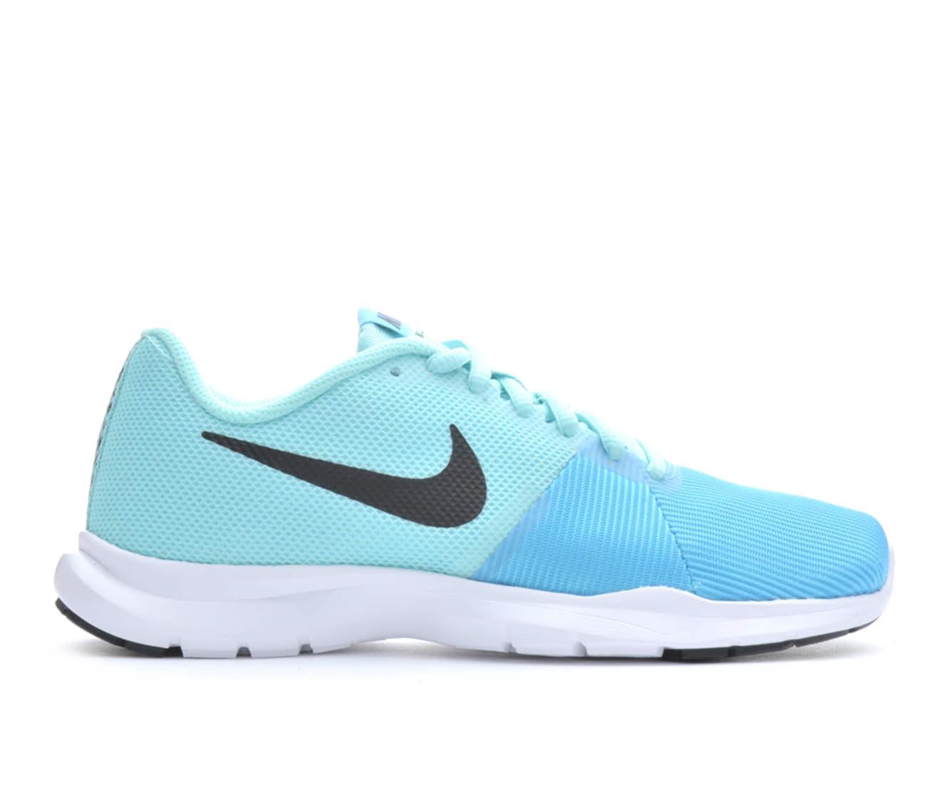 Girls' Nike Flex Bijou Sneakers (Blue)