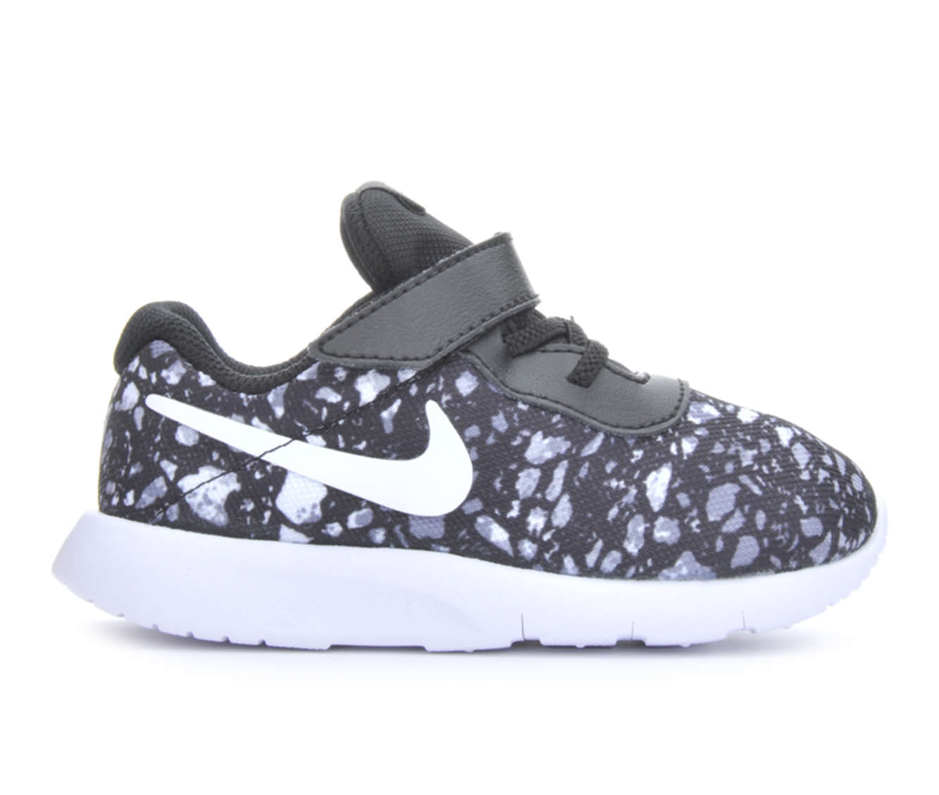 Boys' Nike Infant Tanjun Print Sneakers (Black)
