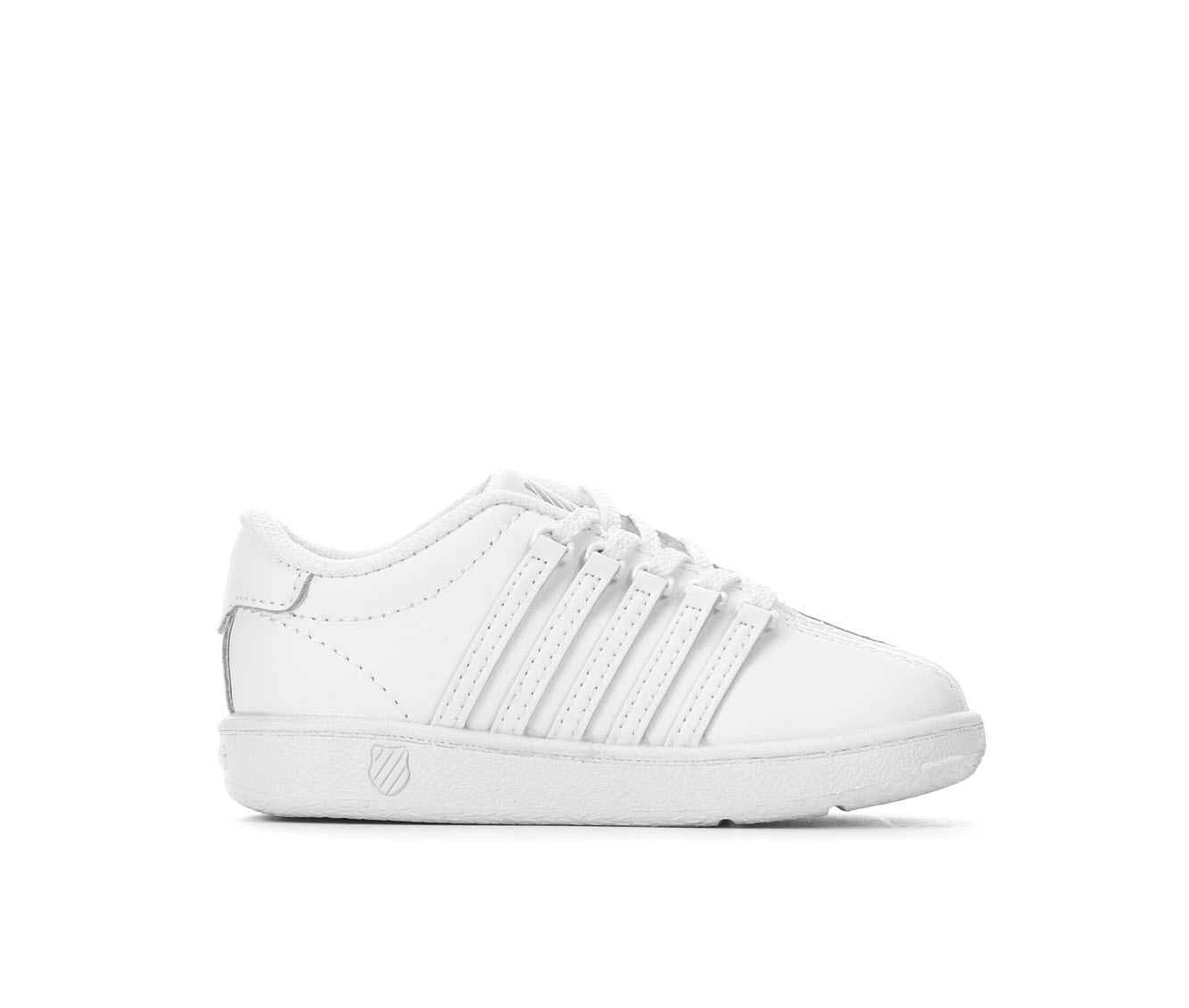 Girls' K-Swiss Inf Classic Cup Sole Sneakers (White)