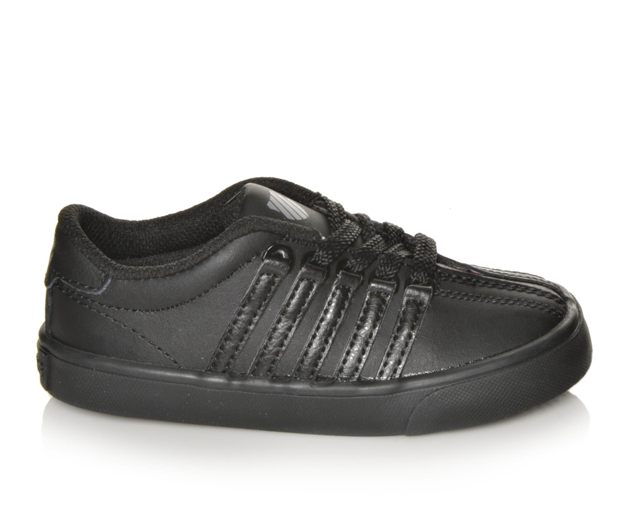 Girls' K-Swiss Inf Classic VN Sneakers (Black)