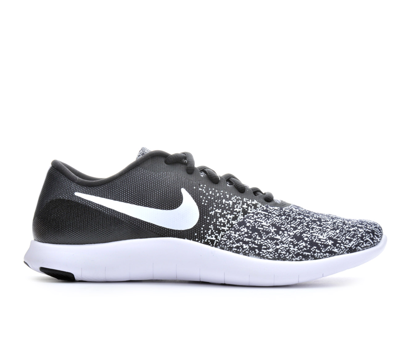 Women's Nike Flex Contact Running Shoes (Black - Size 6) 1663876