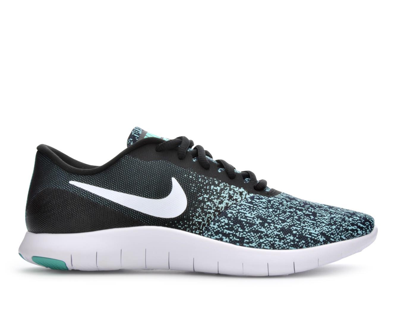 Women's Nike Flex Contact Running Shoes (Black - Size 7) 1649250