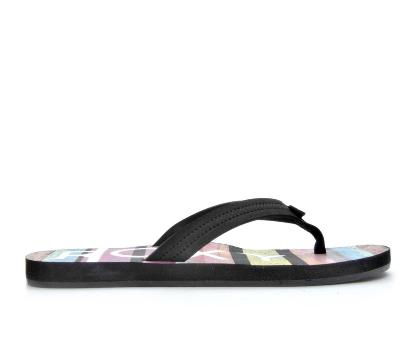Women's Roxy Point Break Sandals (Black)