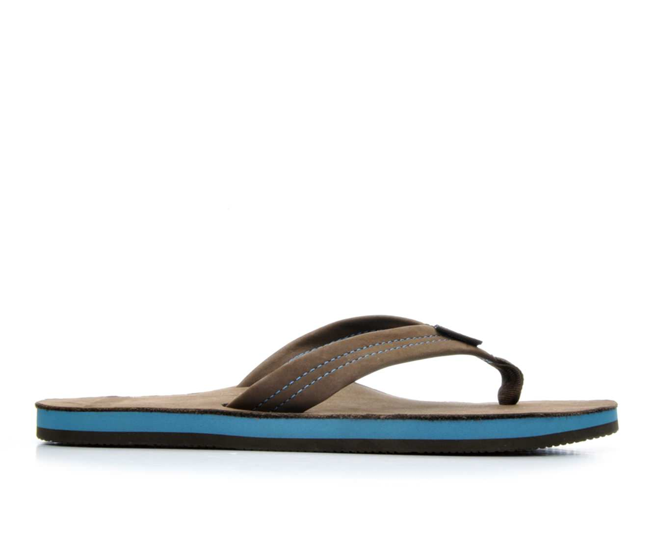 Men's Rainbow Sandals Premier Blues (Brown)