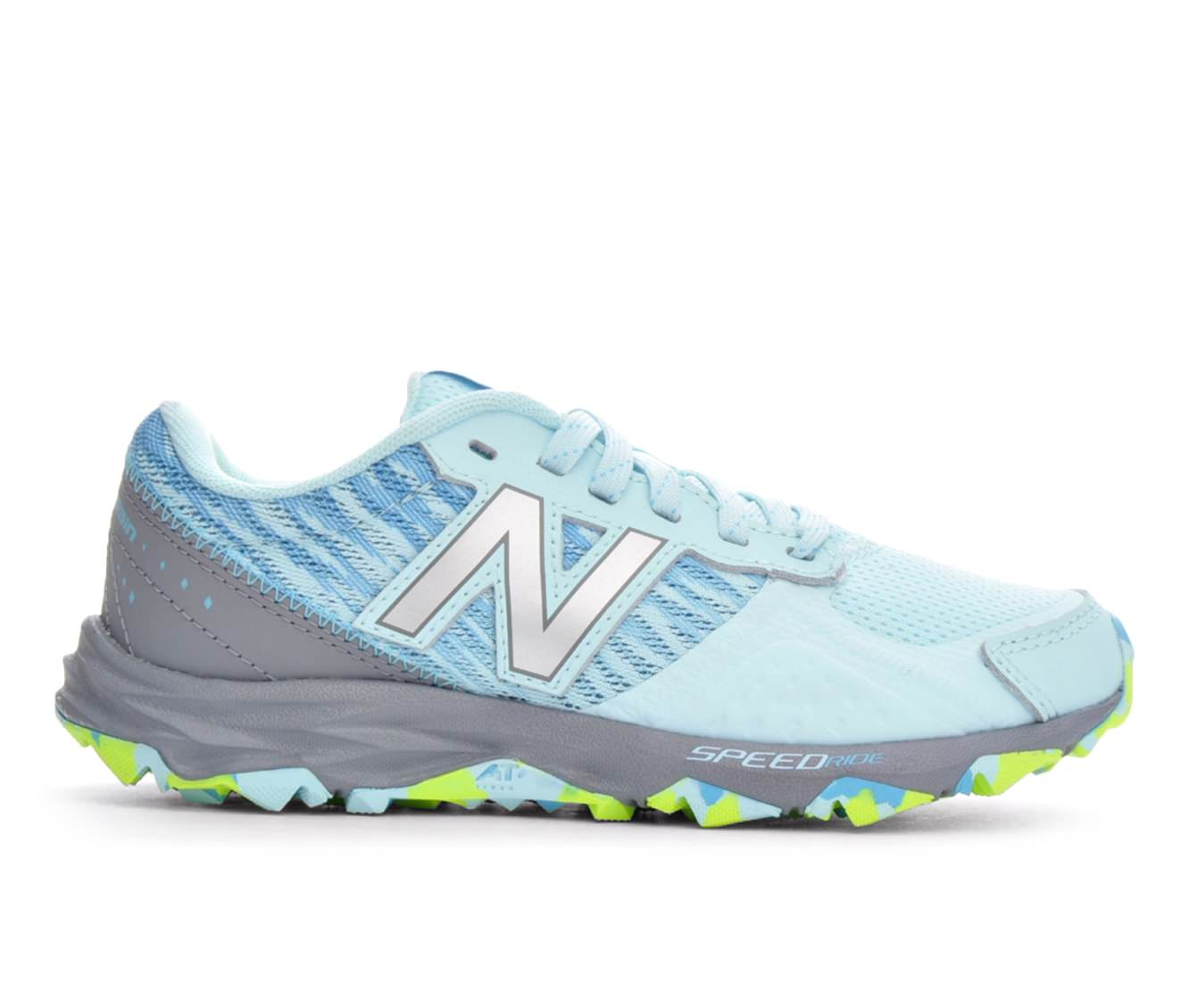 Girls' New Balance KT690ROY Trail Running Shoes (Blue)