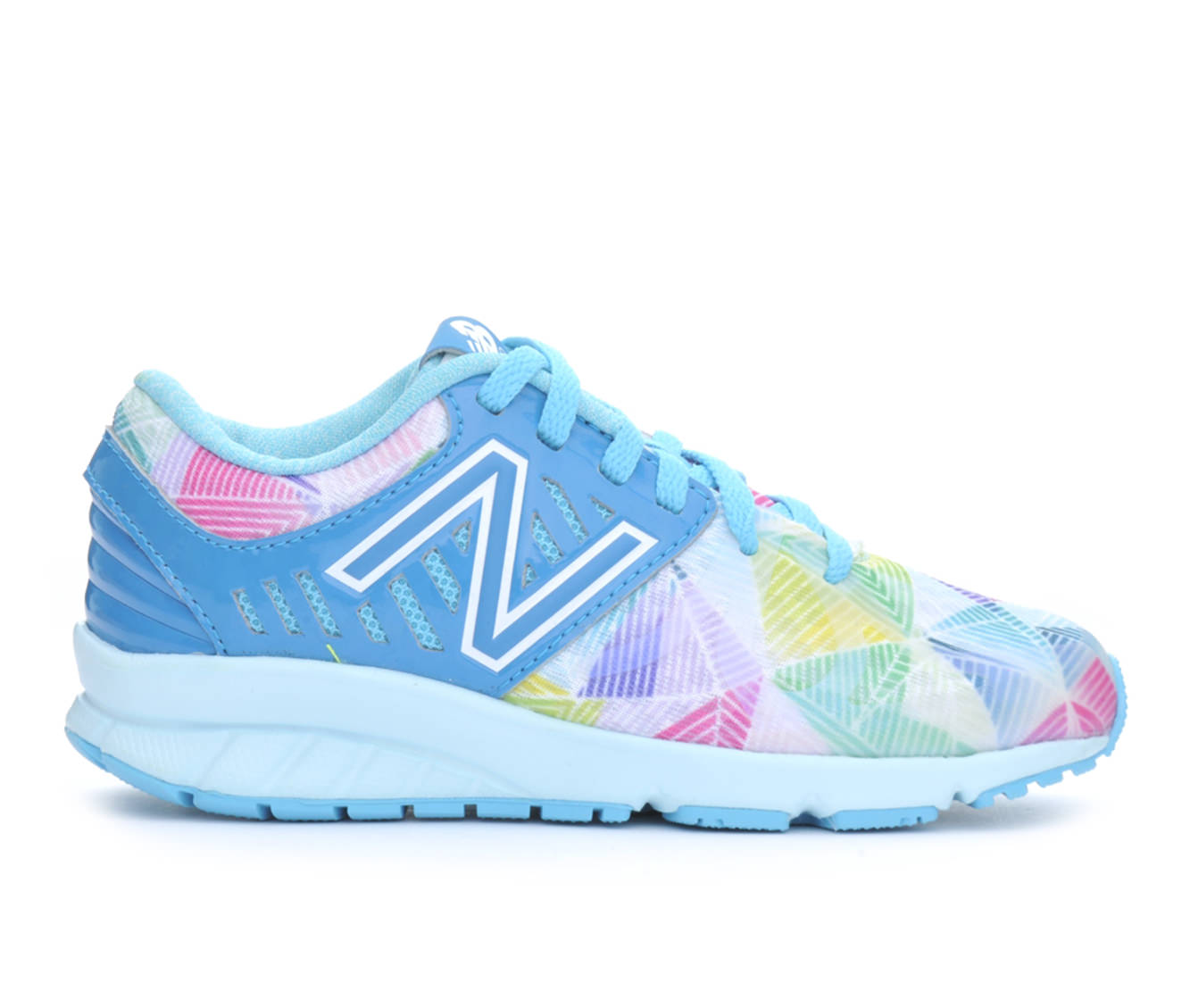 Girls' New Balance KJ200EPP Running Shoes (Blue)