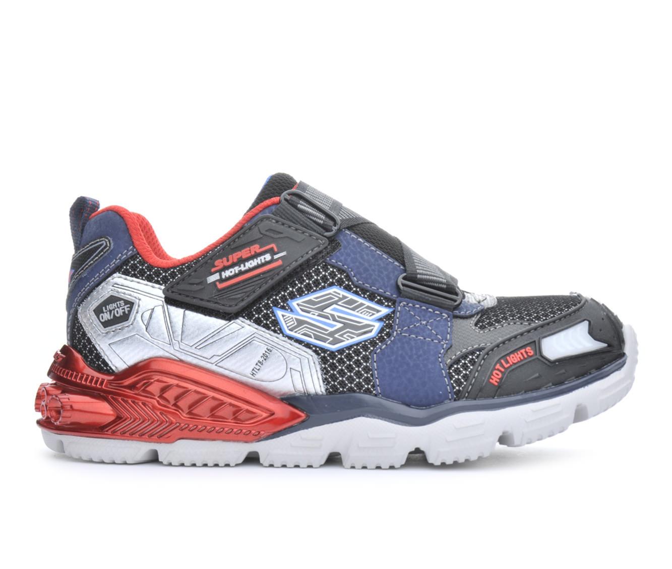 Boys' Skechers Super Z Sneakers (Black)