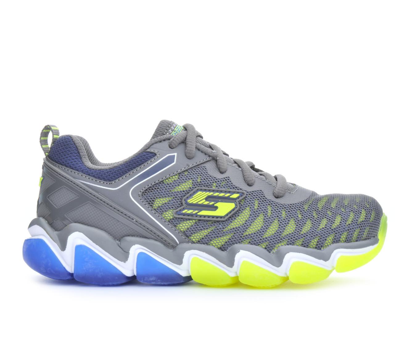 Boys' Skechers Skech-Air 3.0- Downplay Running Shoes (Grey)