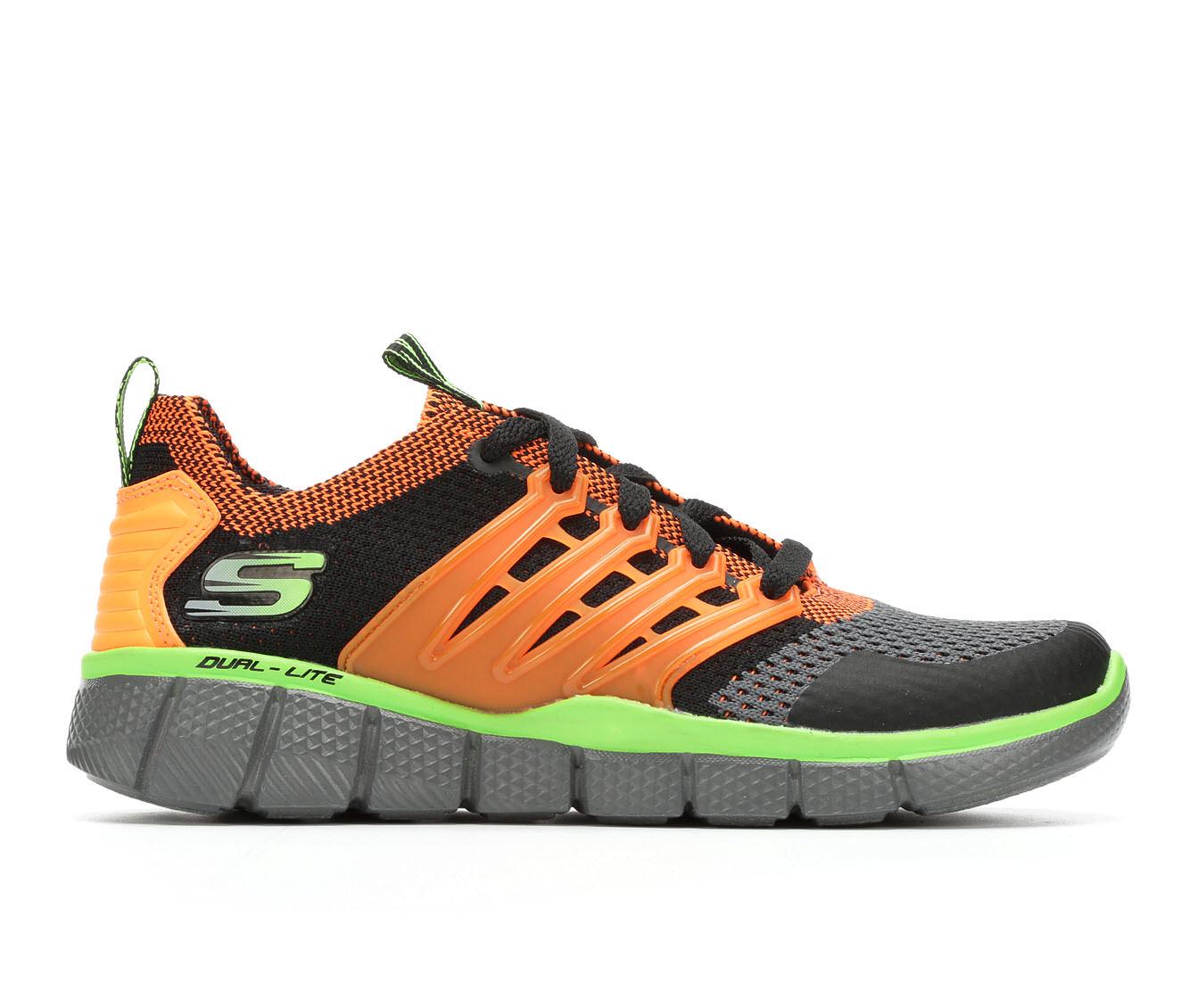 Boys' Skechers Equalizer 2.0- Turbopulse Sneakers (Orange)