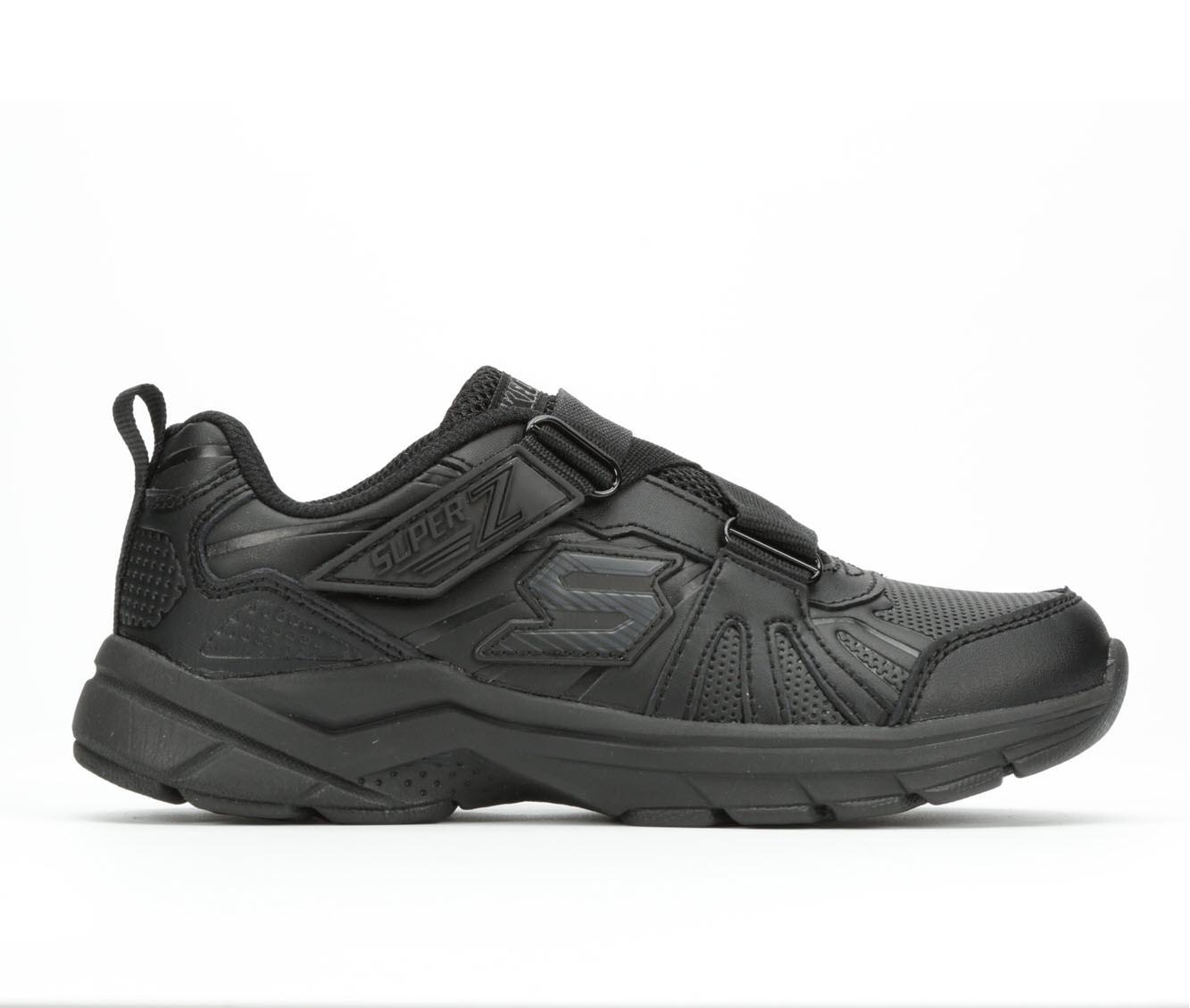 Girls' Skechers Ultrasonix Z- Book Smart Uniform Shoes (Black)