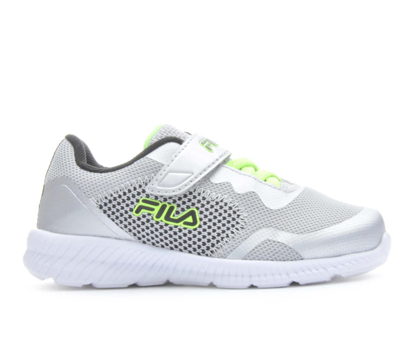 Boys' Fila Infant Showcase 3 Running Shoes (Silver)
