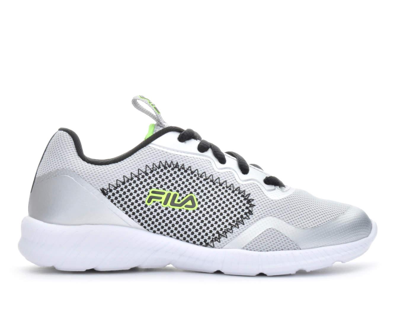 Boys' Fila Showcase 3 Running Shoes (Silver)
