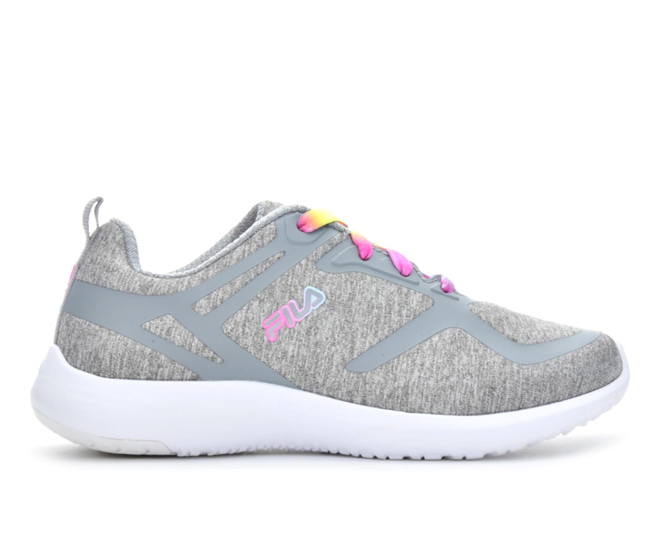 Girls' Fila Kameo 2 Running Shoes (Grey)