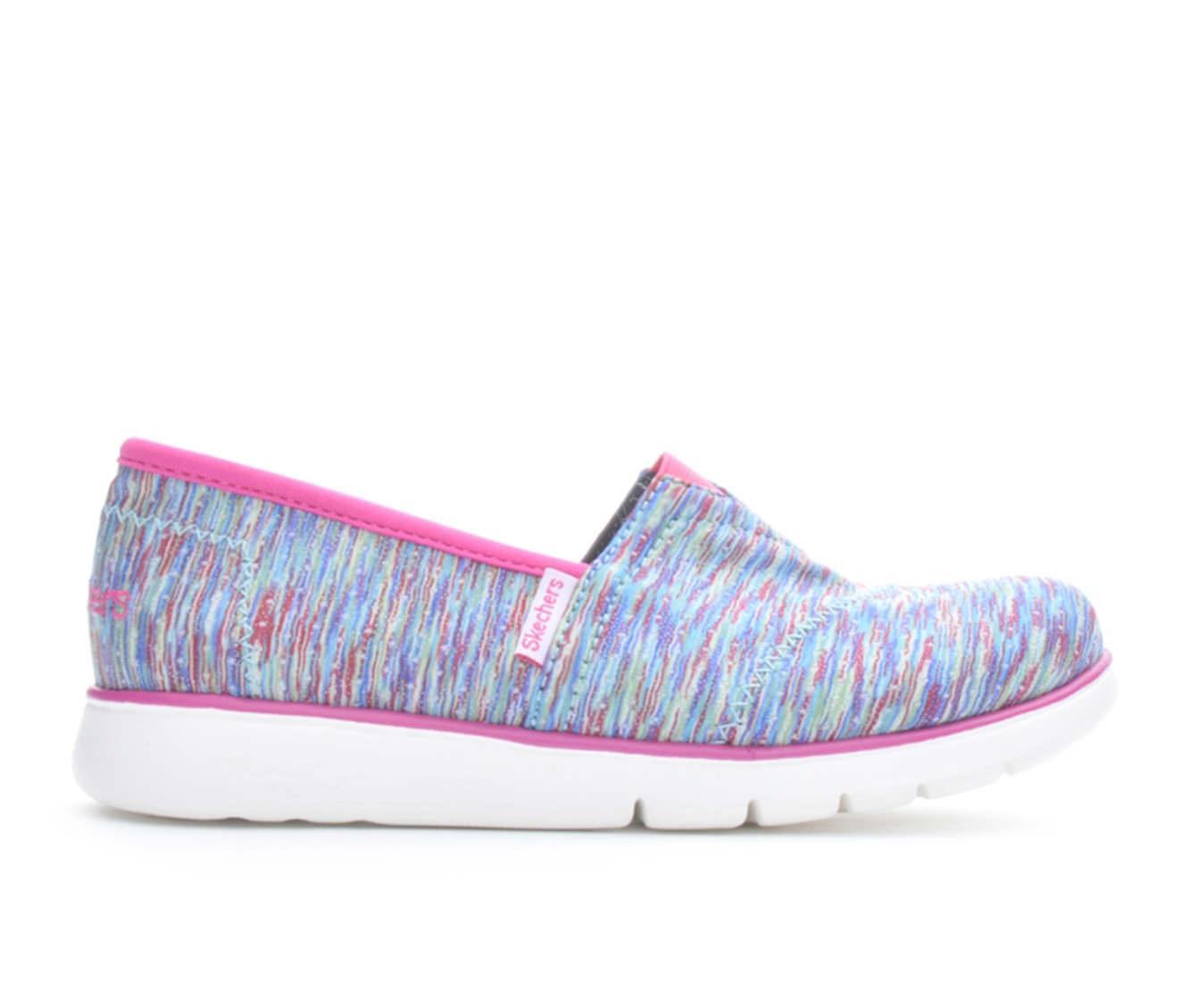 Girls' Skechers PureFlex Sprinter Stripes Children's Shoes (Multicolor)
