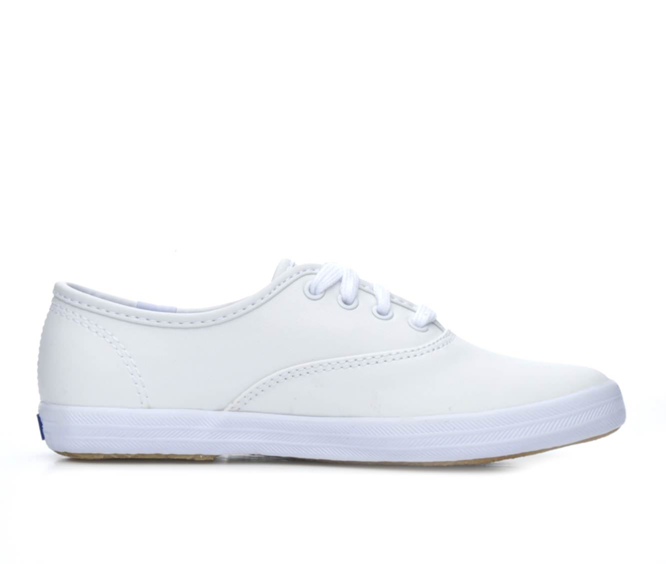 Girls' Keds Champion Ox Leather Sneakers (White)