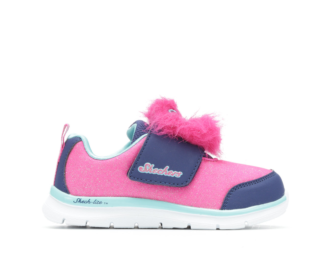Girls' Skechers Infant Skech-Lite Furry- Lil Creature Sneakers (Pink)