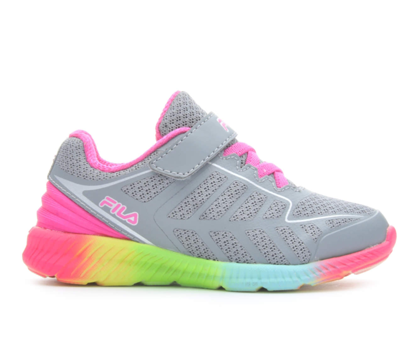 Girls' Fila Infant Finity Running Shoes (Grey)