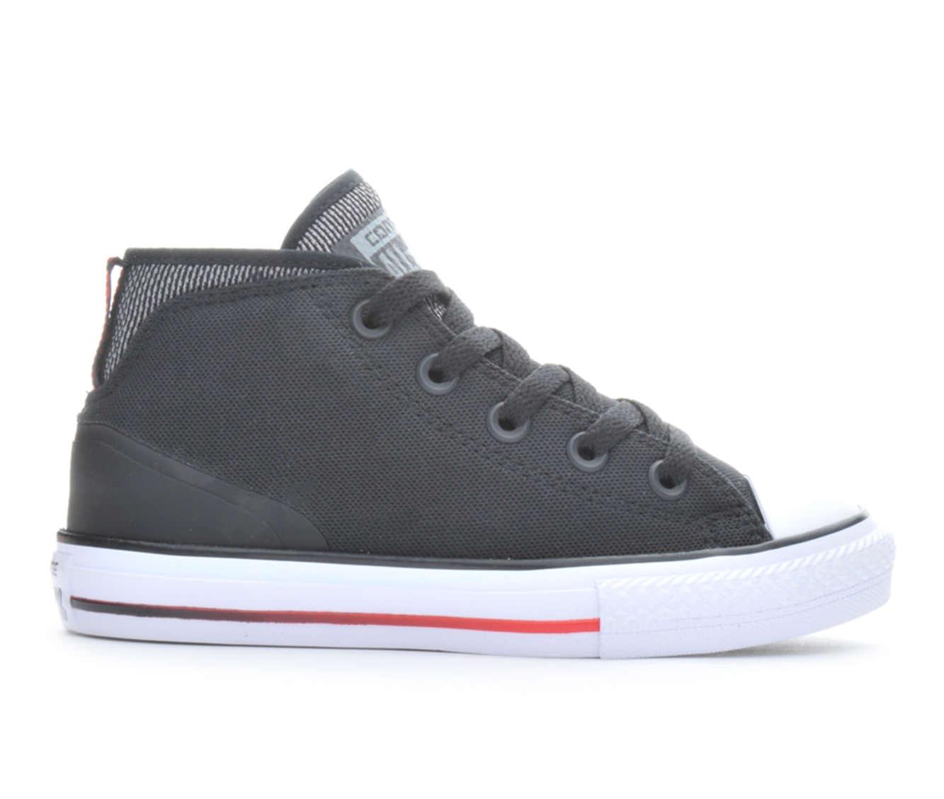 Boys' Converse Syde Street Summer Canvas Sneakers (Black)