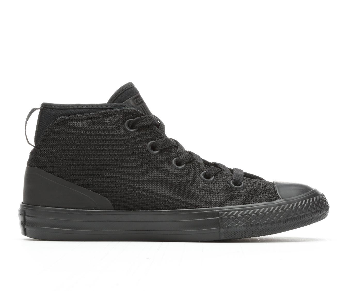 Boys' Converse Syde Street Tough Poly Sneakers (Black)