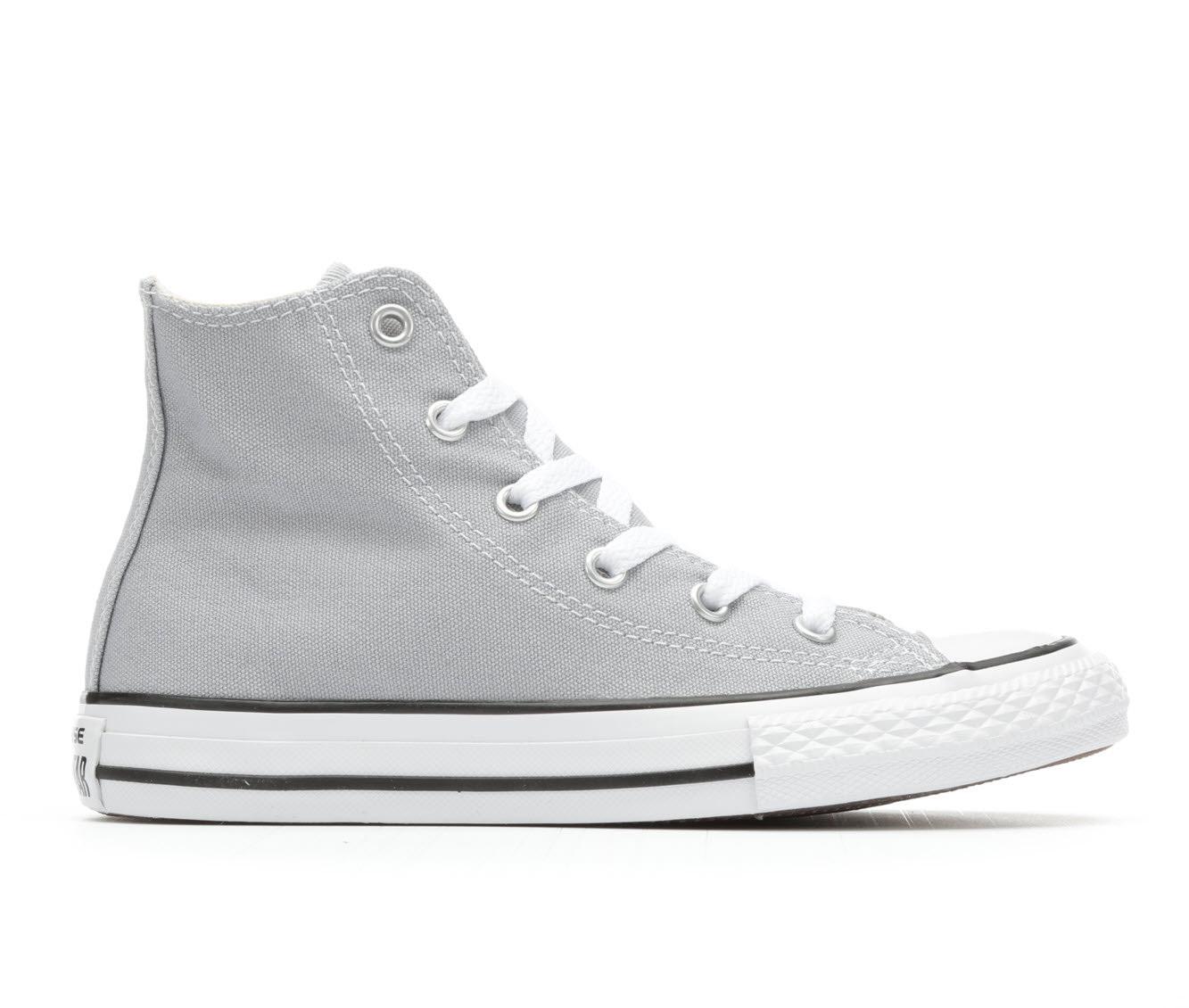 Girls' Converse Chuck Taylor All Star Seasonal Hi Sneakers (Grey)
