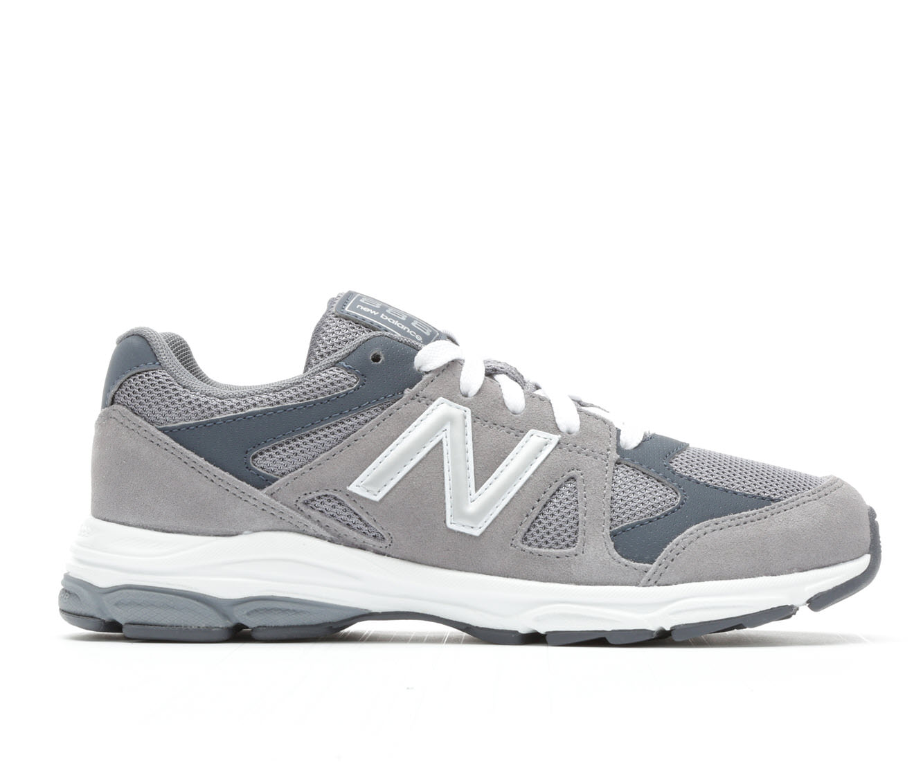 Boys' New Balance KJ888GYG Running Shoes (Grey)