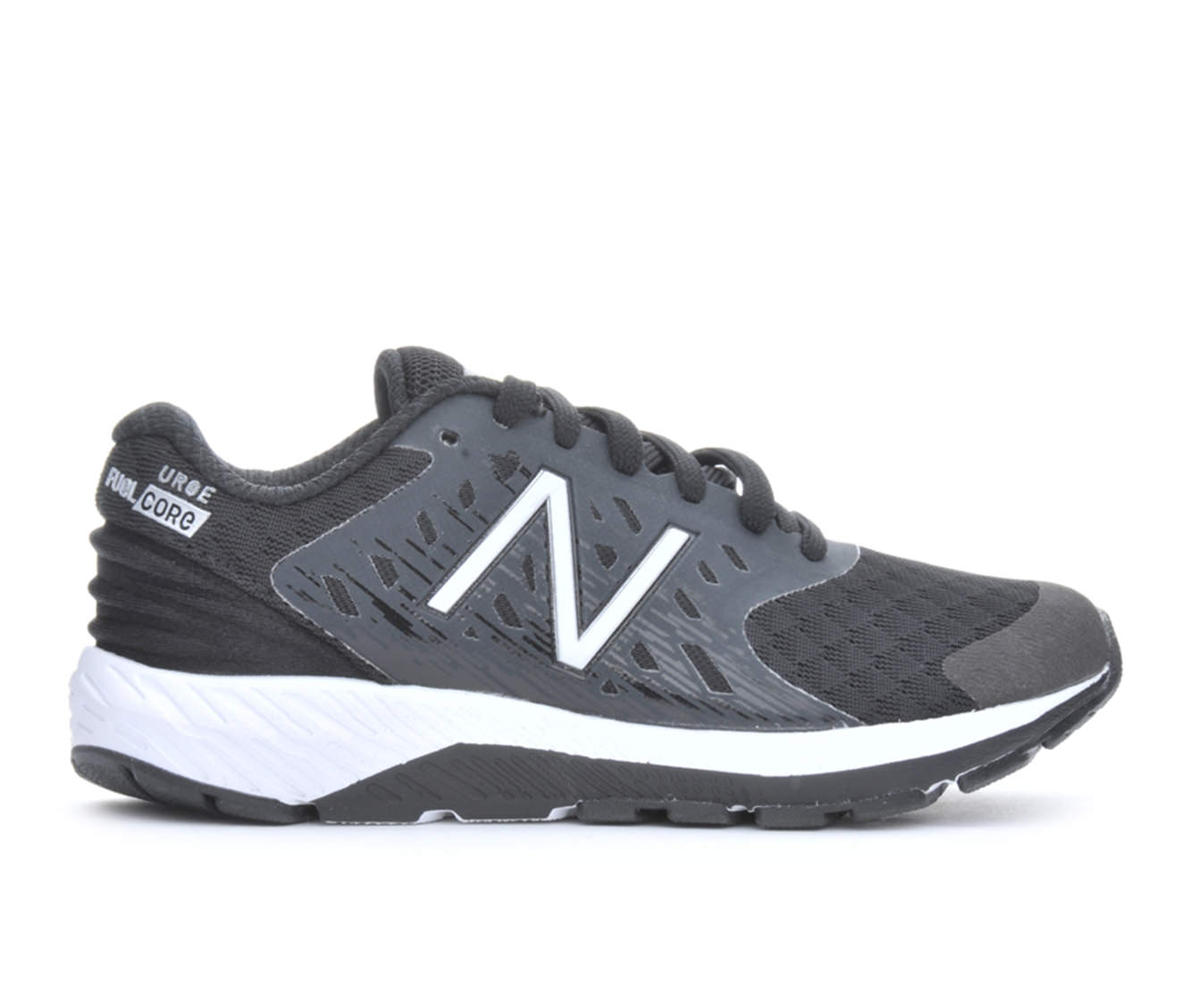 Boys' New Balance KJURGBWY Running Shoes (Black)
