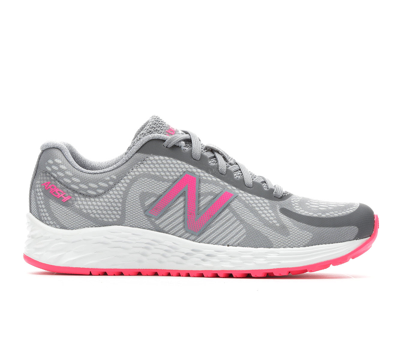 Girls' New Balance Arishi KJARIGPY Running Shoes (Grey)