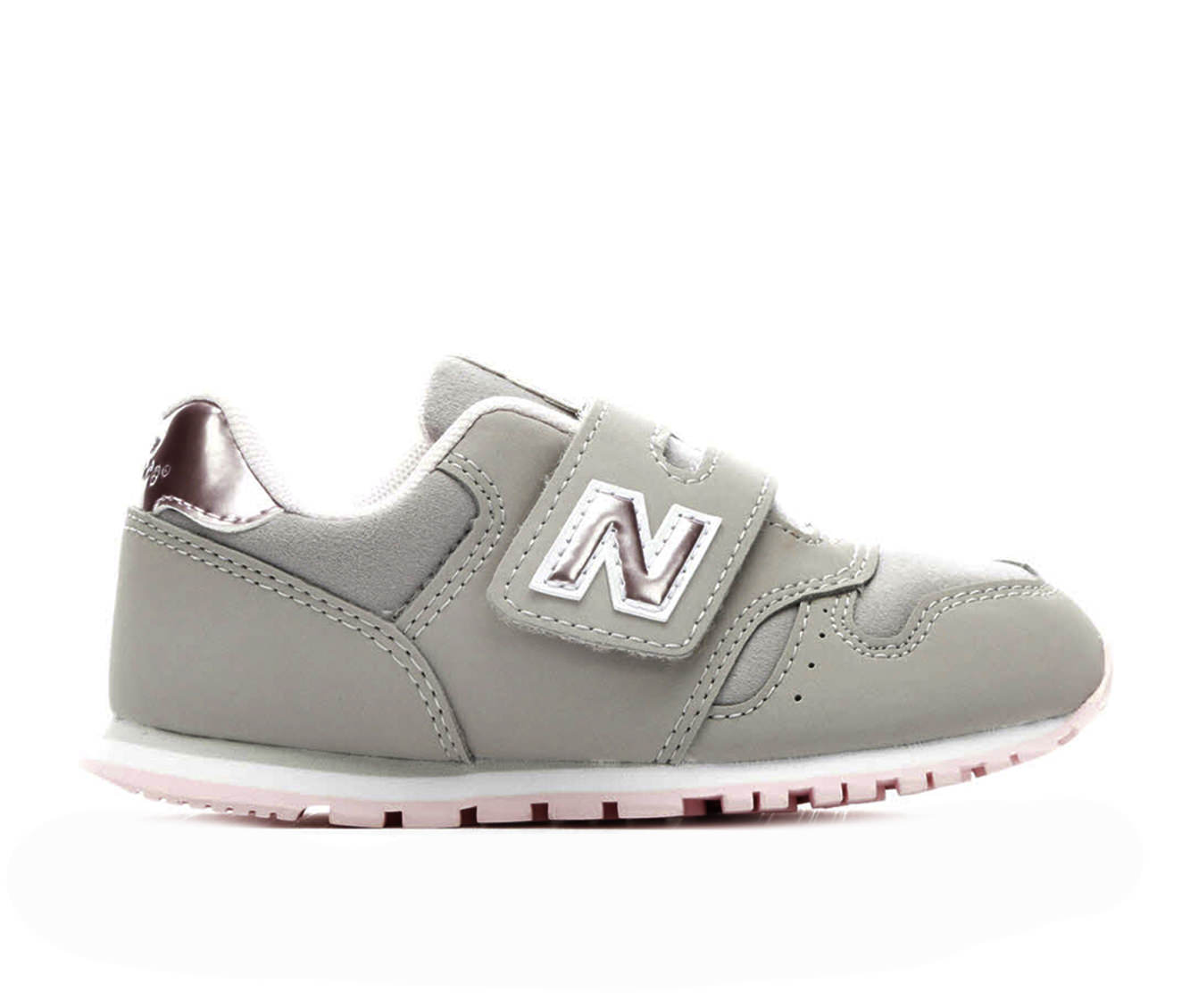 Girls' New Balance Infant KV373F1I Sneakers (Grey)