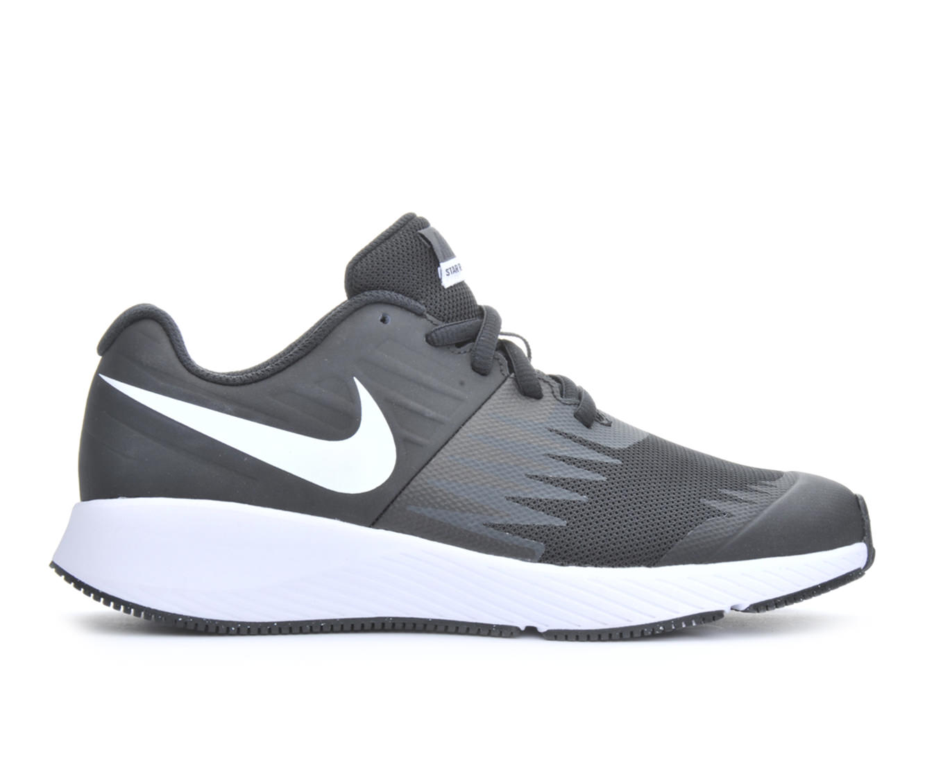 Boys' Nike Star Runner Running Shoes (Black)