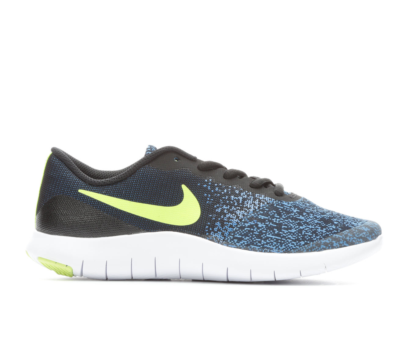 Boys' Nike Flex Contact Running Shoes (Blue)